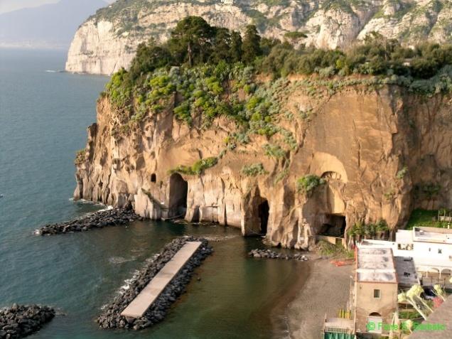 Piano di Sorrento - Blick zum kleinen Hafen